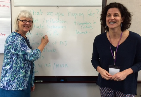 Denise Ernst, Ph.D. and Stephanie Wahab, Ph.D., M.S.W. Motivational Interviewing Training
